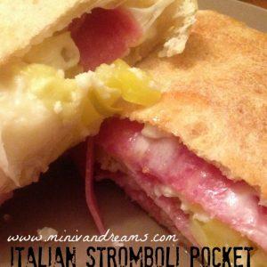 Italian Stromboli Pocket | Mini Van Dreams