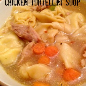 Chicken Tortellini Soup | Mini Van Dreams