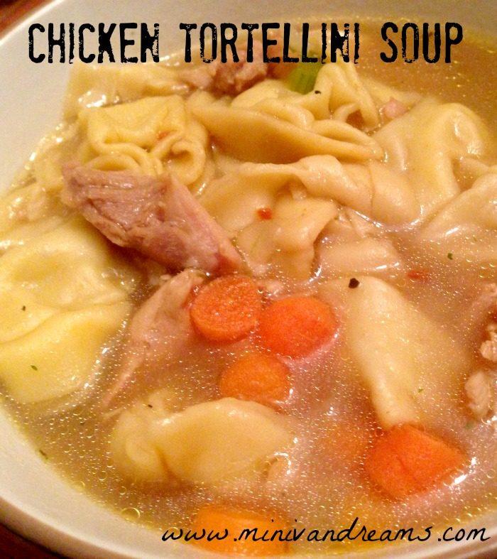 Chicken Tortellini Soup   Mini Van Dreams