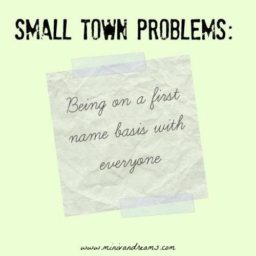 Small Town Problems | Mini Van Dreams