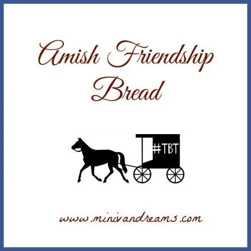 Amish Friendship Bread #TBT   Mini Van Dreams