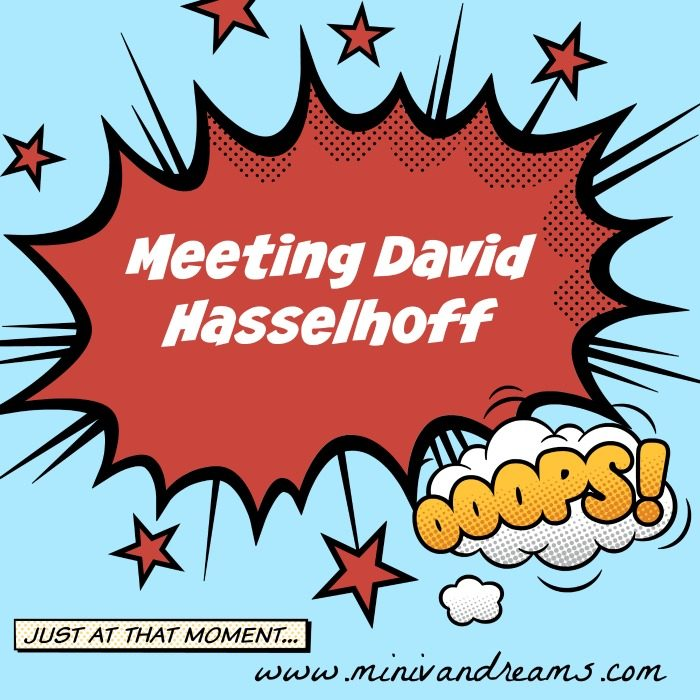 Meeting David Hasselhoff | Mini Van Dreams