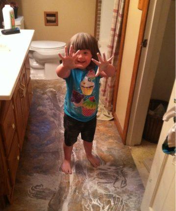 The Long Awaited Baby Powder Story #TBT   Mini Van Dreams