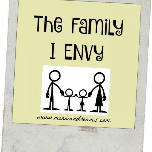 The Family I Envy #TBT | Mini Van Dreams