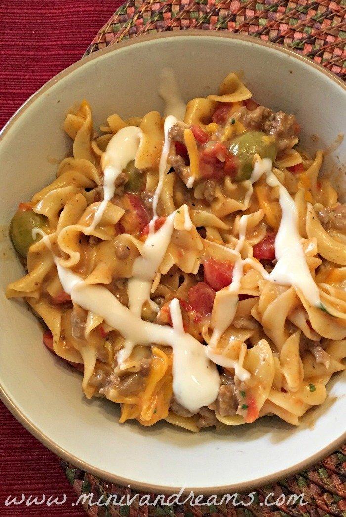 Nacho Noodles | Mini Van Dreams