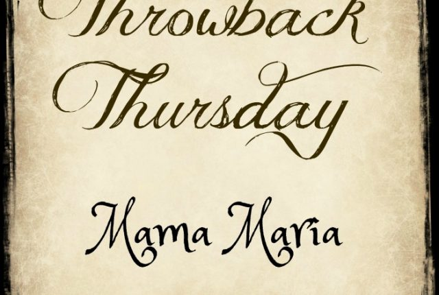 Mama Maria #TBT | Mini Van Dreams
