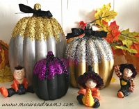 Elegant Pumpkin Decorations