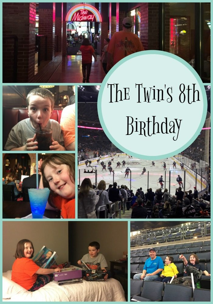 The Twin's 8th Birthday | Mini Van Dreams