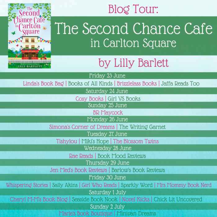 The Second Chance Cafe in Carlton Square   Mini Van Dreams