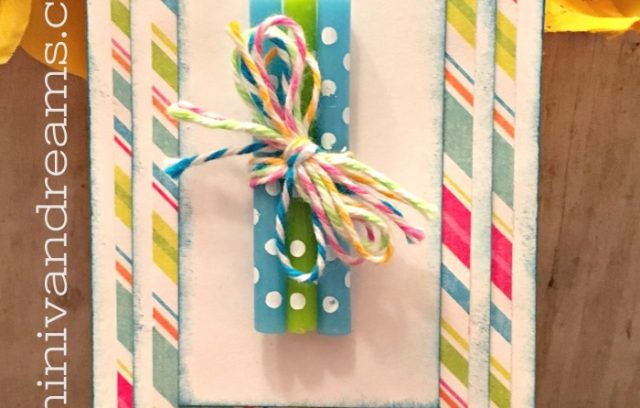 Easy Birthday Gift Tag | Mini Van Dreams