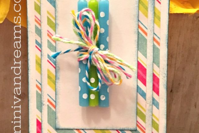Easy Birthday Gift Tag | Mini Van Dreams