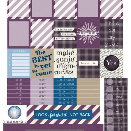 Free Printable Planner Stickers: Best is Yet to Come | Mini Van Dreams