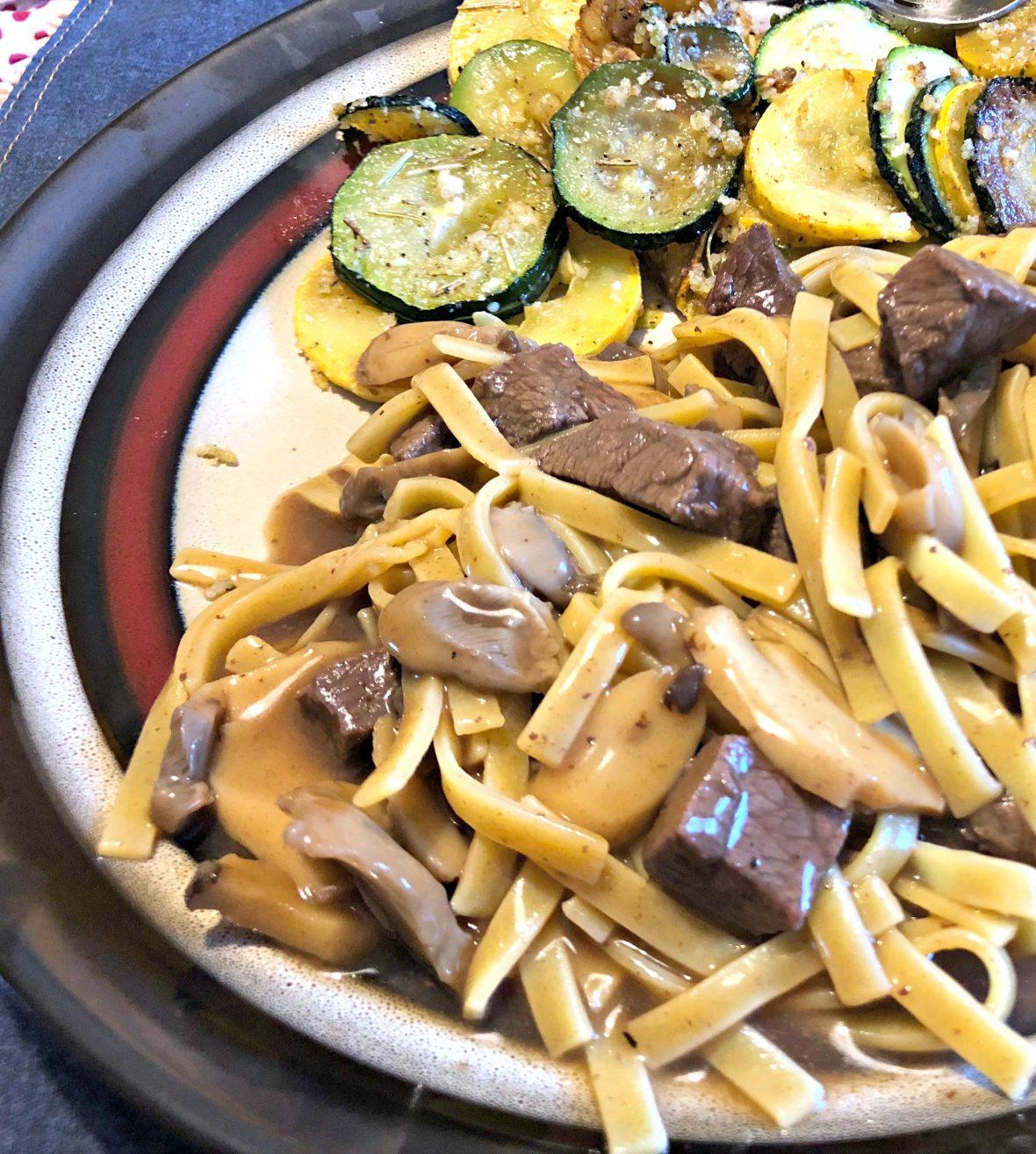 Weeknight Beef and Noodles | Mini Van Dreams