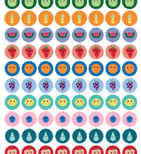 BONUS: Cute Fruit Printable Stickers | Mini Van Dreams